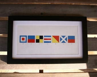 You CHOOSE a name in signal flags
