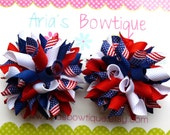 A Pair 4th of July Red, White, Blue, Flag Mini Korkers