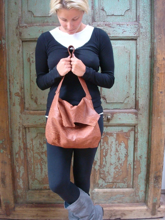 Handmade Leather Hobo, Handbag, Brown, Upcycled, Recycled, Vintage Leather,  Womens, by VintageChase on Etsy FREE U.S. SHIPPING