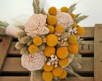 Milk and Honey Bridesmaid Bouquet