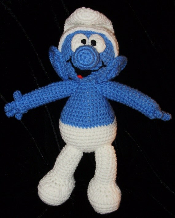 A Smurf A Crochet Pattern by Erin Scull