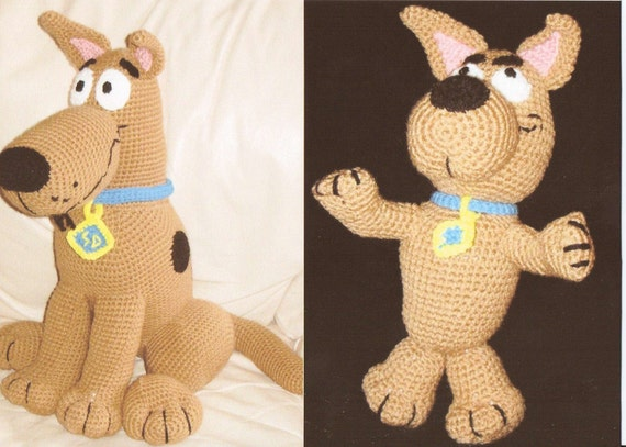 Scooby Doo and Scrappy Doo 2 Crochet Pattern DEAL by Erin Scull