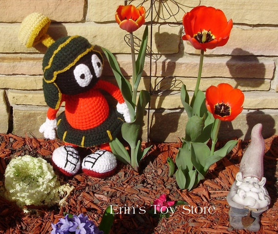 Marvin the Martian A Crochet Pattern by Erin Scull