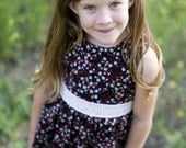 Girls  Summer Dress black and red