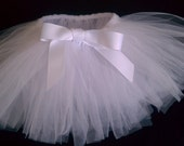 Angel White Baby Tutu Ghost Costume Photo Prop Pageant 0-12 months