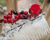 First Frost - Winter Berry and Bird Comb