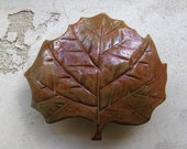Sycamore Leaf Jewelry Box (Custom Order for Klover Atek)