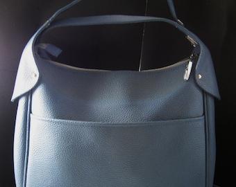 Samsonite 1970's  Saturn Vintage Weekend Bag Blue Very Nice