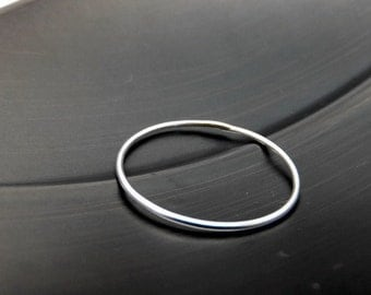 Barely There Sterling Silver Ring