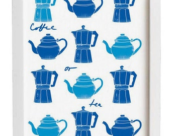 Coffee or Tea Kitchen Art - high quality fine art print