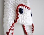 Pilot Crochet Hat for Unisex Kids Toddlers Children and Babies Aviator Hat dreamt teamspirit