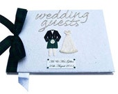 Scottish Wedding Guest Book - Your choice of Tartan