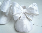 Baby Girl Shoes, Christening Shoes, Booties, Mary Jane, Bobka Shoes by BobkaBaby