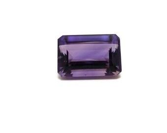 Genuine Amethyst 14x22x11mm Emerald cut 27.70ct