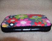 Boutique Style Flower Design Baby Wipe Case