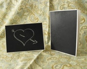 Chalkboard Cards- Set of 2