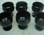 Black Amethyst Goblets