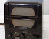 Vintage 1950's Webster Electric Teletalk Intercom Bakelite Tubes in tact