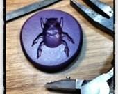 Silicone Mold - Beetle/Scarab