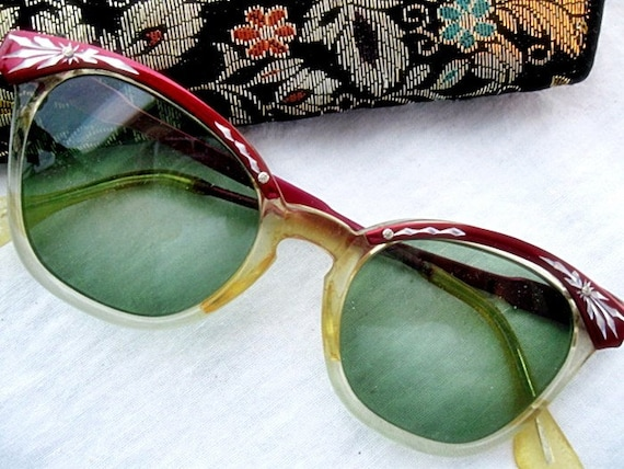 Vintage 1950s, 1960s Cat Eye Eyeglasses