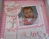 SWEET BABY GIRL Shadow Box