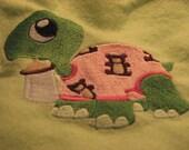 baby turtle blanket