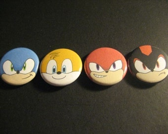 Sonic the Hedgehog pin set