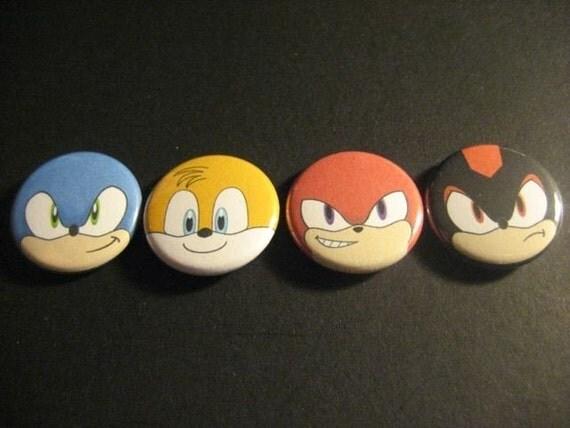 Sonic the Hedgehog pin set
