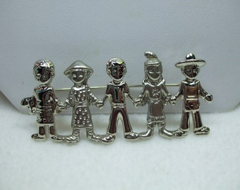 We Are The Future... Children AJC Brooch