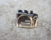 A Pin - Inspired by the Old City of Jerusalem. Sterling Silver Handmade From Israel