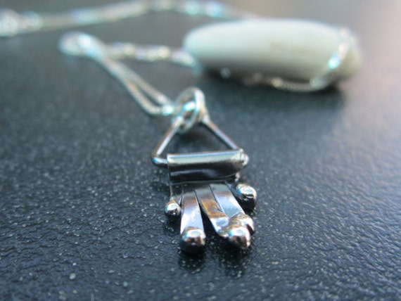 Silver Hamsa Necklace