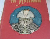 Vintage Tales Told From Holland My Travelship Book 1948