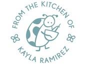 personalized ladybug kitchen stamp