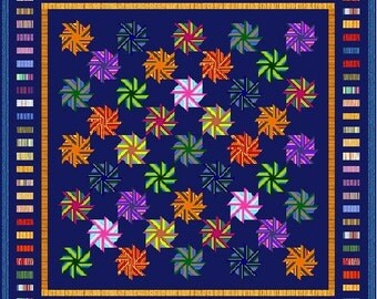 """UNBELIEVABLE - 114"""" x 114"""" King or 95"""" x 95"""" Queen - Quilt-Addicts Pre-cut Patchwork Quilt Kit or Finished Quilt"""