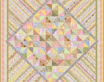 ENCHANTMENT - 3 sizes - Quilt-Addicts Pre-cut Patchwork Quilt Kit or Finished Quilt