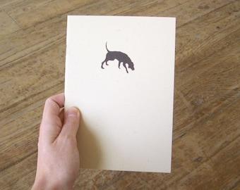 Dog Notebook - Hound Cahier