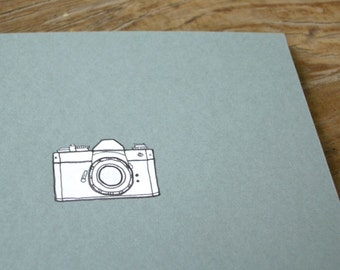 Camera Notebook - Photographer's Cahier - Graph Paper