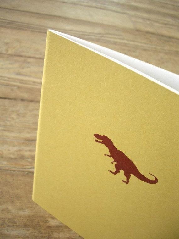 Dinosaur Notebook - Tyrannosaurus Rex (T. Rex) Cahier