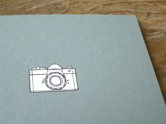 Camera Notebook - Photographer's Cahier