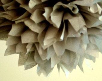 Tissue Paper Pom -1 tissue paper flower/ paper decor/ wedding bouquete/ baby shower decor/ nursery decor