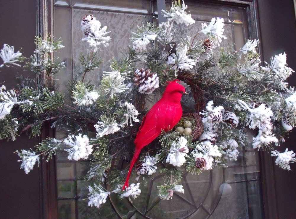 Bird Door Decorations