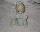"Precious Moments,  ""The Lord is counting on you "", ENESCO"