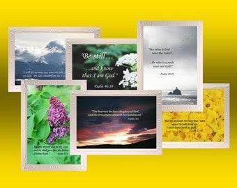 Scripture Print Note Cards