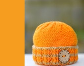 New - Sweet Pumpkin hat - Perfect for Halloween Photo Prop