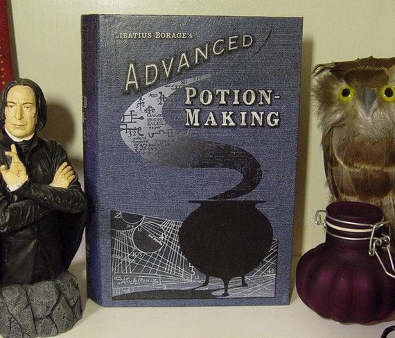 Advanced Potion Making  Display Book