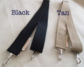 Adjustable Shoulder Strap for City Panniers and Towpath bags - BLACK ONLY