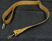 Adjustable Leather Shoulder Strap - for City Panniers and Towpath bags