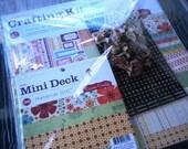Cosmo Cricket Material Girl Scrapbook Kit