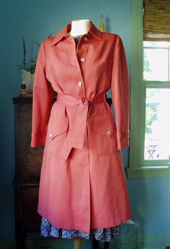 Vintage Raincoat By Forecaster of Boston SALE