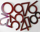 3 Neutra House Numbers